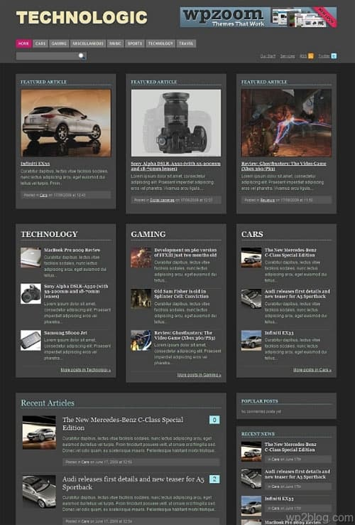 technologic wordpress theme