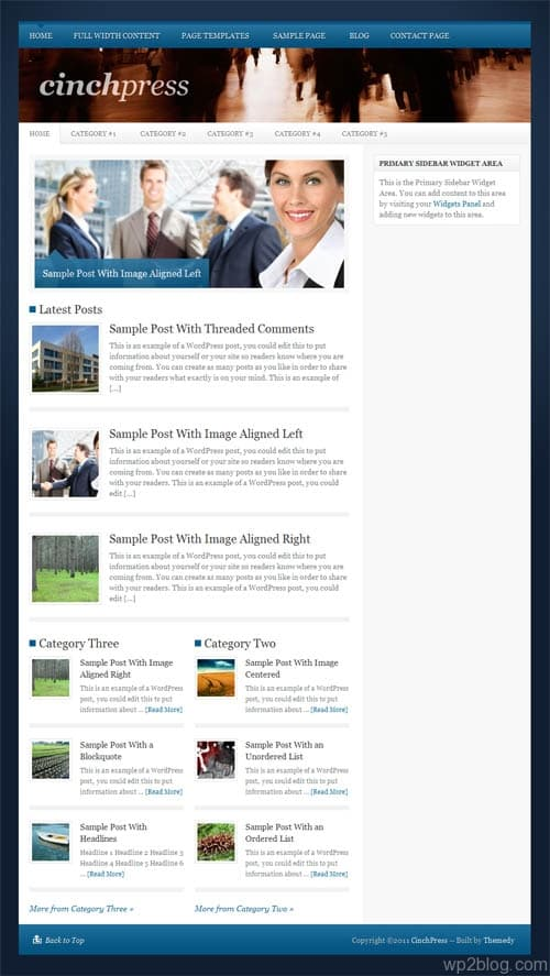 CinchPress Premium WordPress Theme