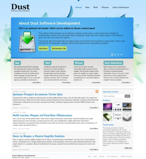 dust-wordpress-theme