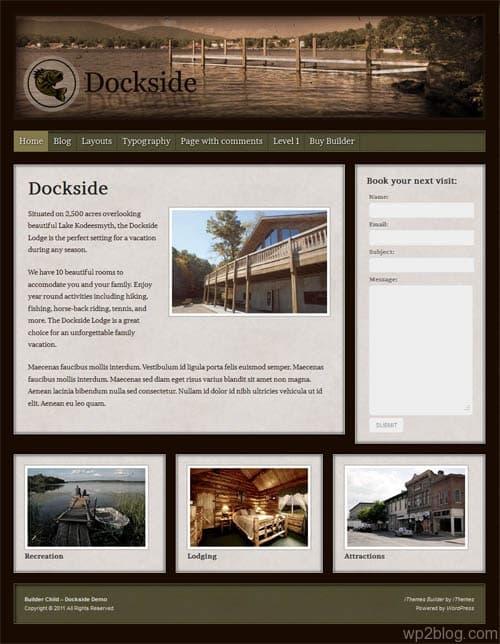 dockside wordpress theme