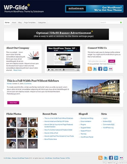 wp-glide wordpress theme