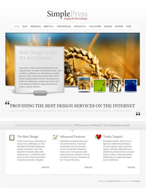 simplepress-wordpress-theme