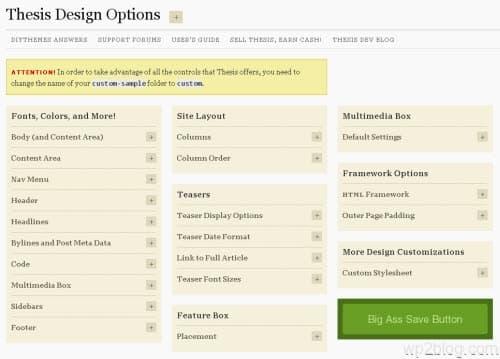 design-options