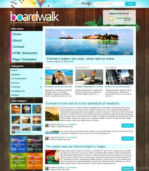 BoardWalk Premium WordPress Theme