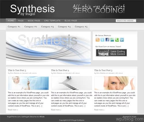 synthesis theme