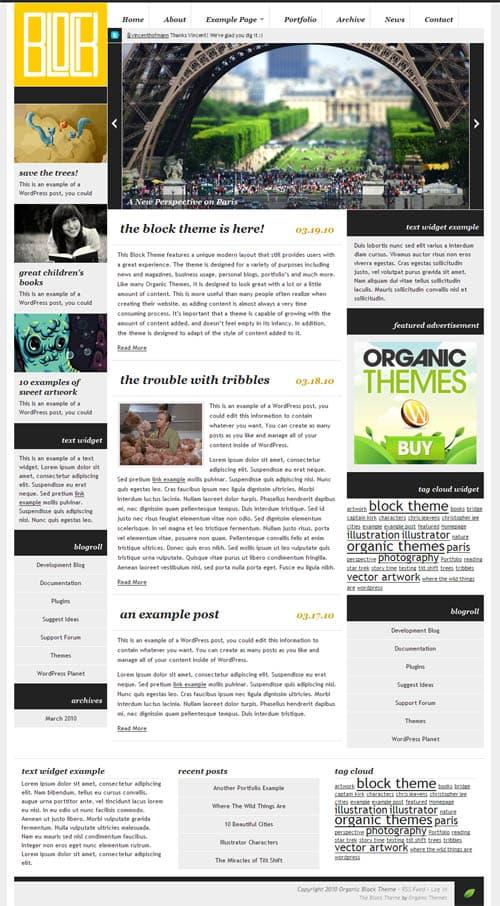 block-wordpress-theme