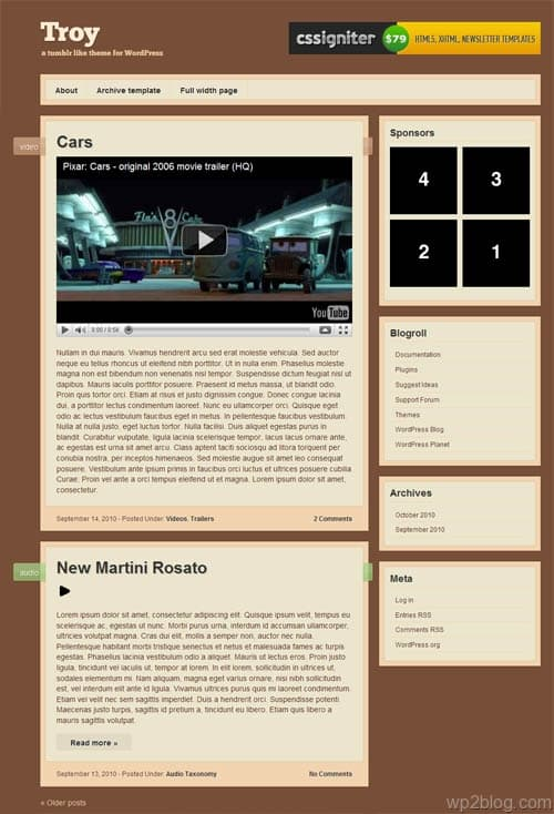 troy-wordpress-theme