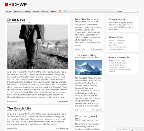 BigNews Premium WordPress Theme