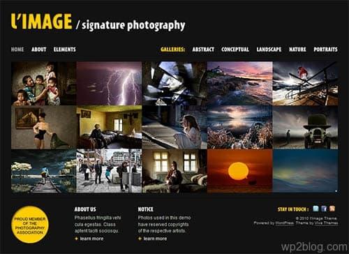L'Image Photography WordPress Theme
