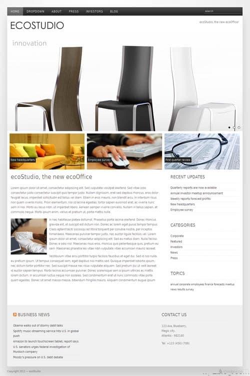 Eco Studio Premium WordPress Theme