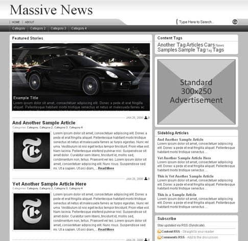 Massive News Theme