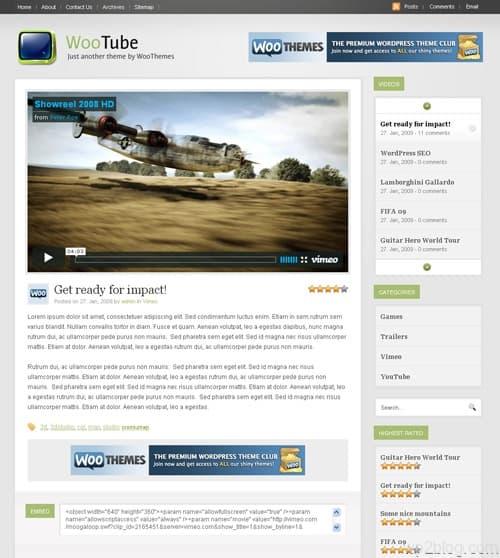 woo tube wordpress theme