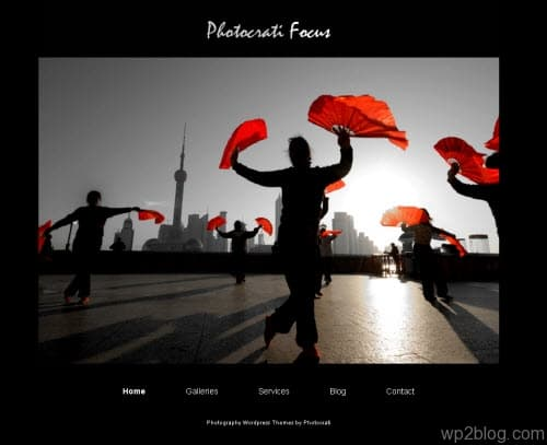 Photocrati Focus wordpress theme