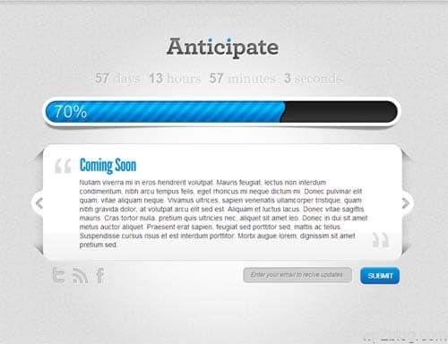 Anticipate WordPress Maintenance Mode Plugin