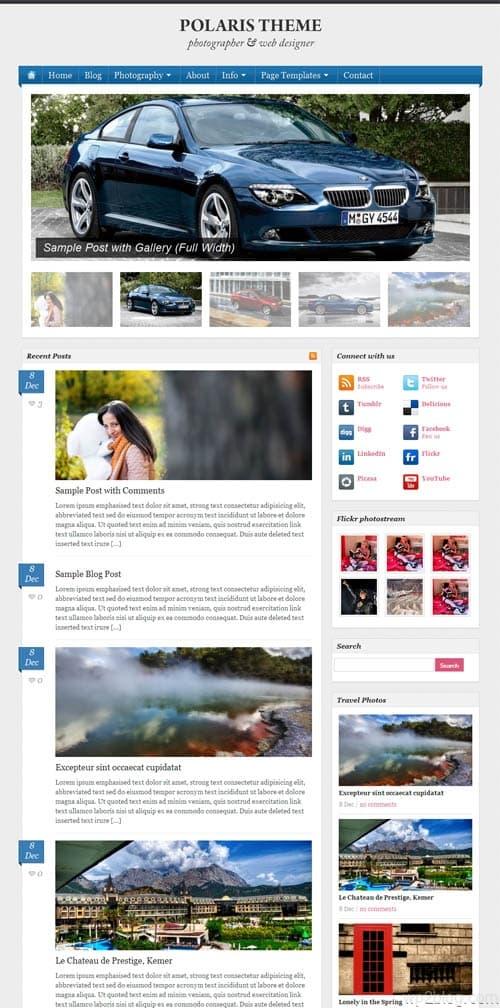 Polaris Premium WordPress Theme