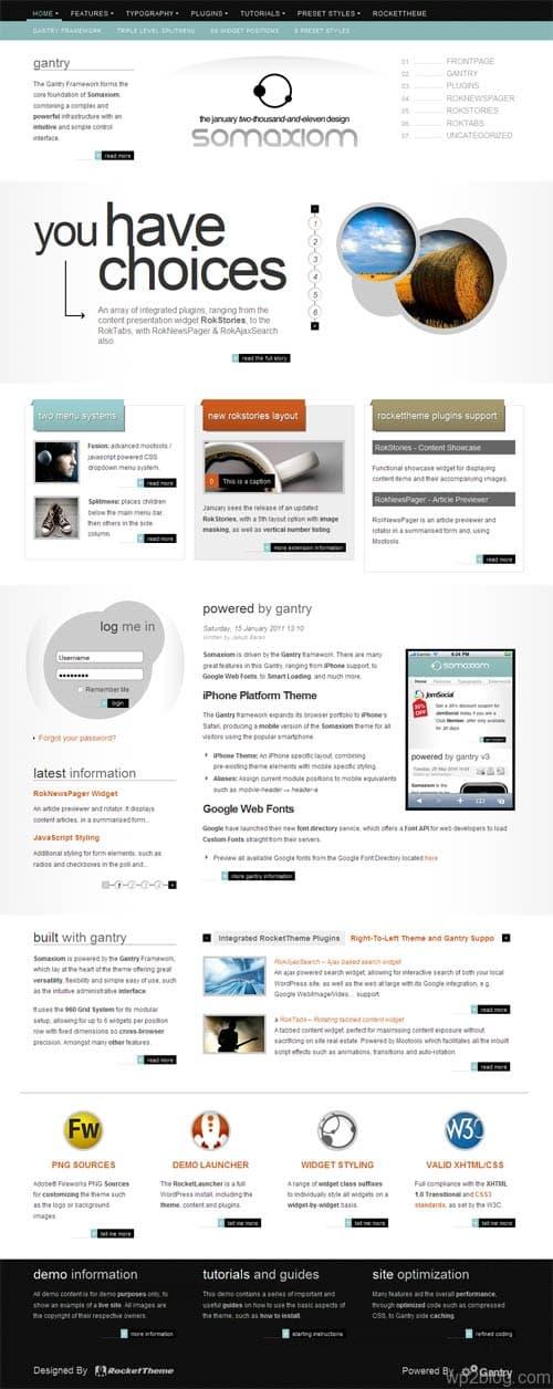 Somaxiom Premium WordPress Theme