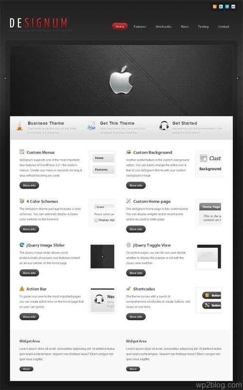 DeSignum Business WordPress Premium Theme