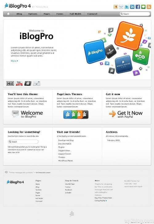 iBlogPro4 Premium WordPress Theme