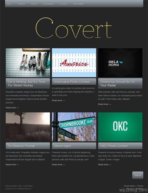 Covert Premium WordPress Theme