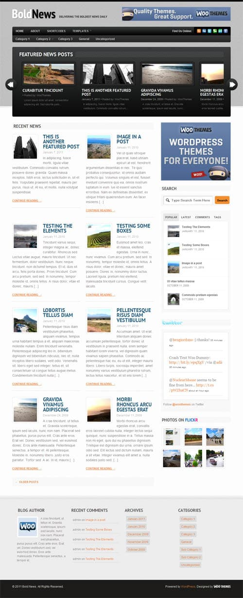 boldnews wordpress theme