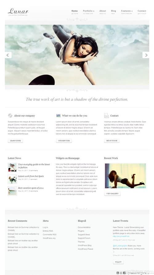 Lunar Premium WordPress Theme