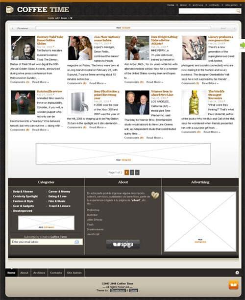 Coffee Time WordPress Theme