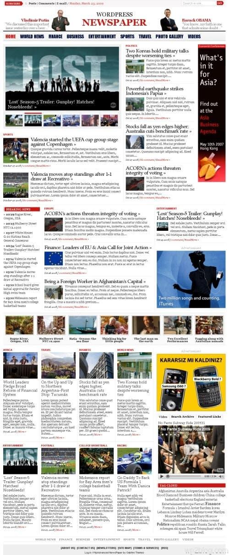 wp advanced newspaper theme