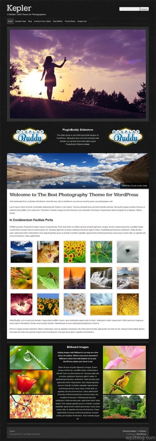 Kepler Premium WordPress Theme