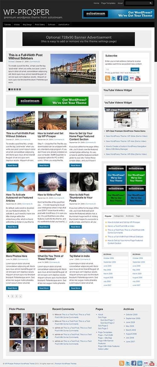 WP-Prosper Premium WordPress Theme