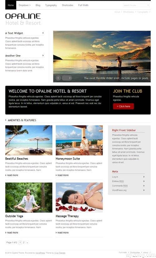 Opaline Premium WordPress Theme