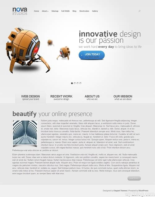 Nova Premium WordPress Theme
