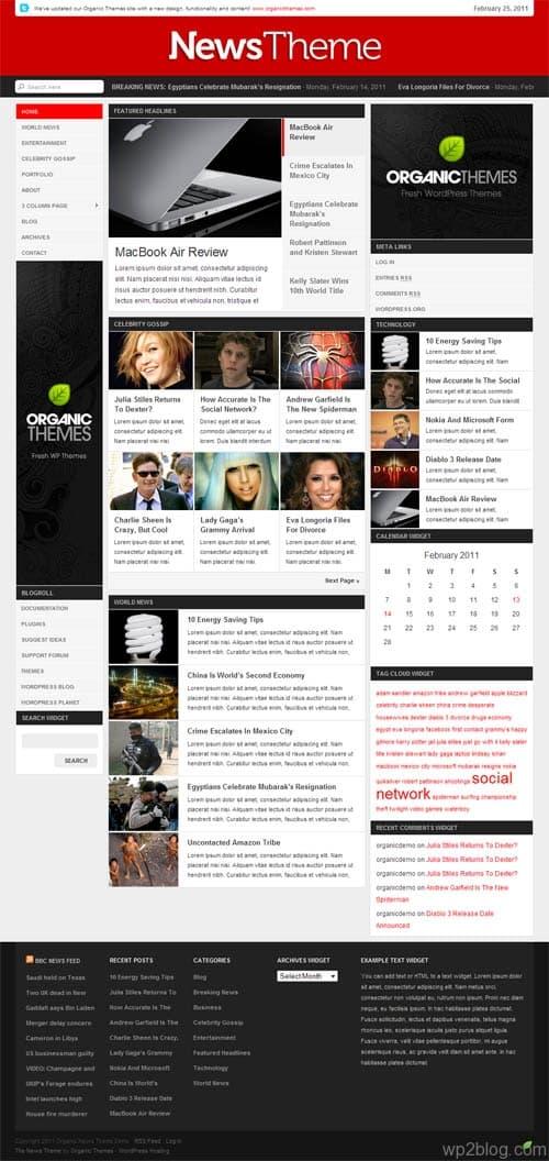 News Theme Magazine WordPress Theme