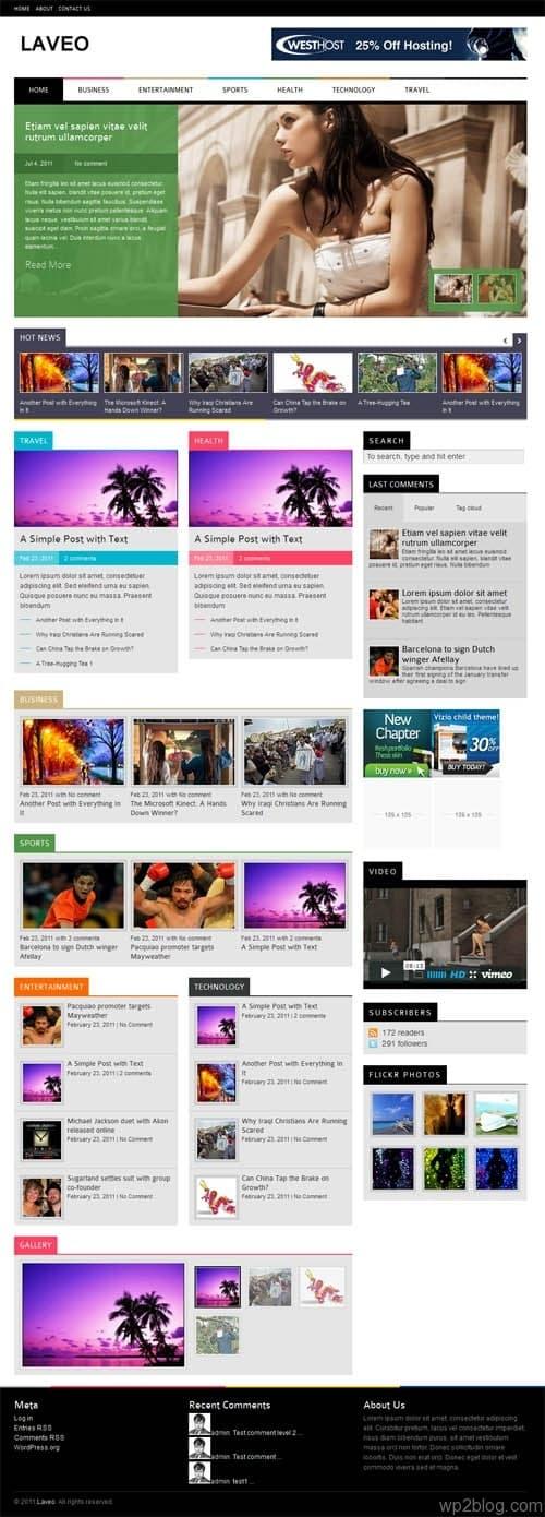laveo wordpress theme