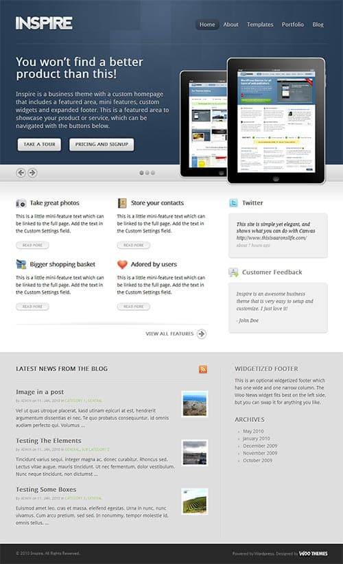 inspire-wordpress-theme
