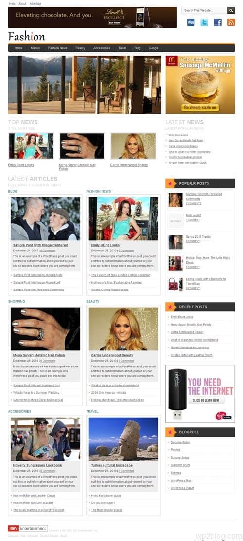 Fashion Premium WordPress Theme