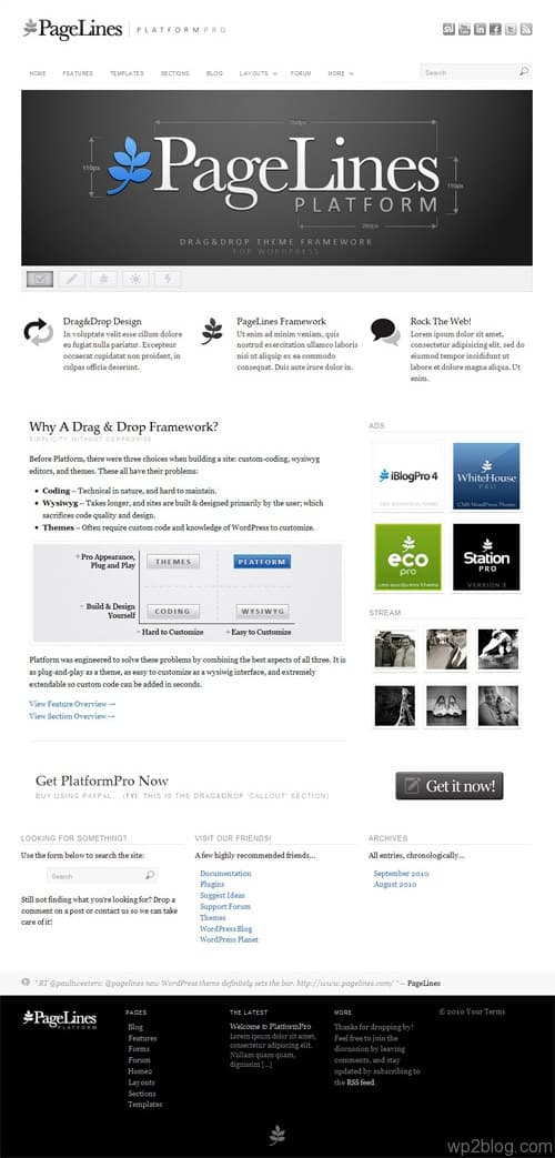 Platform Pro WordPress Theme Framework