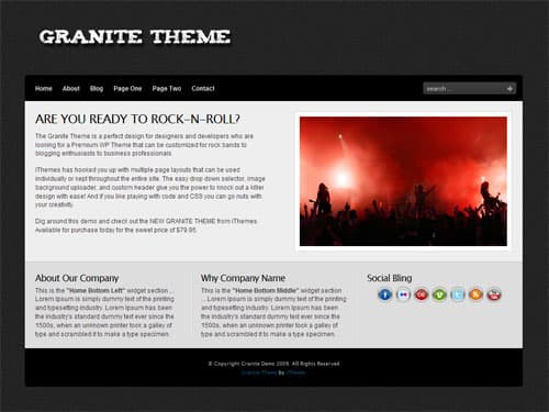 granite-wordpress-theme