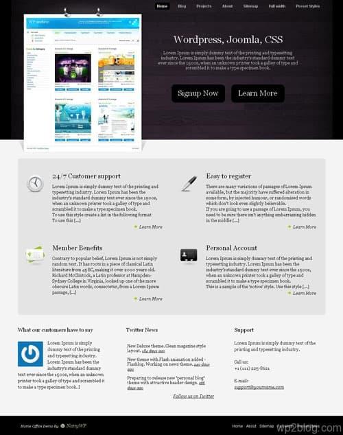 Home Office WordPress Theme