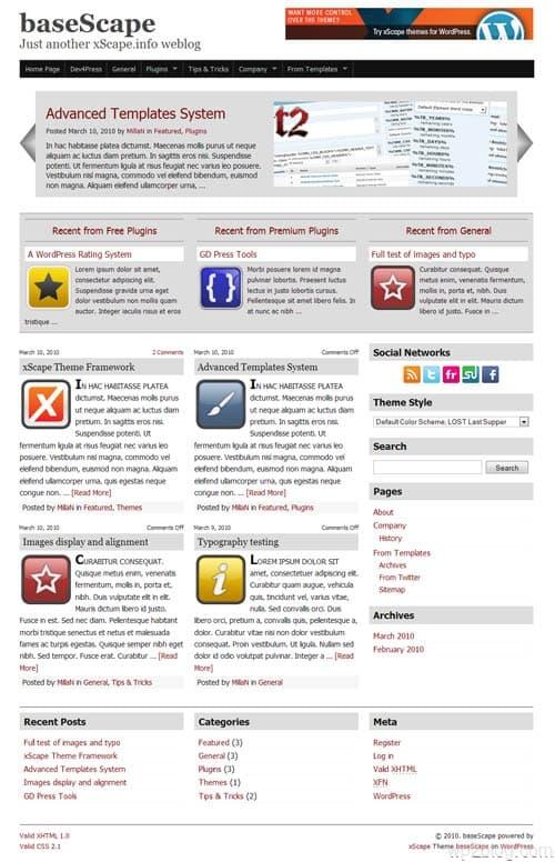 basescape-wordpress-theme
