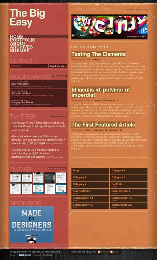 big-easy-wordpress-theme