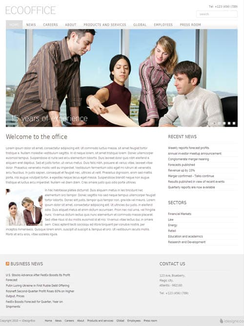 eco-office-wordpress-theme
