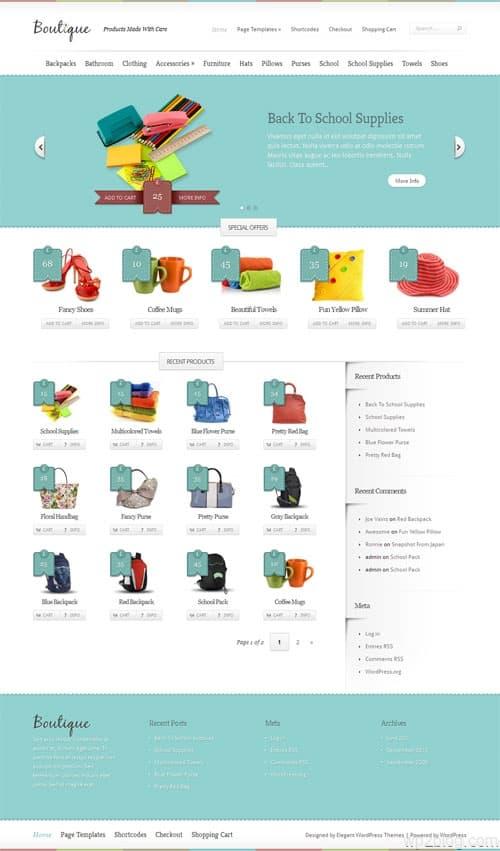 boutique-wordpress-theme