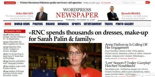 gabfire wordpress newspaper theme