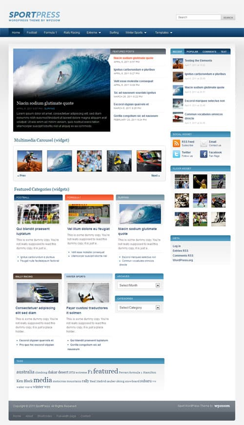 sportpress-wordpress-theme