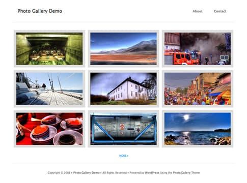 Photo Gallery White