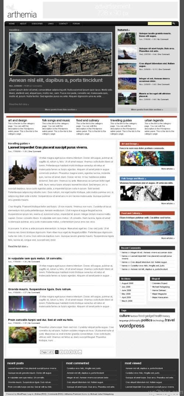 Arthemia WordPress Theme