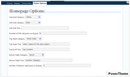 MagPress Theme Options