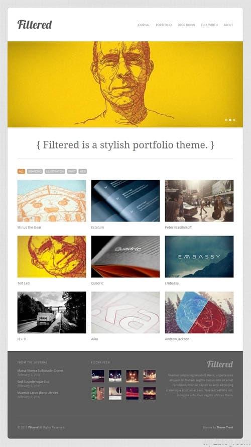 filtered-wordpress-theme