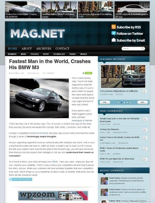 Magnet Premium WordPress Theme