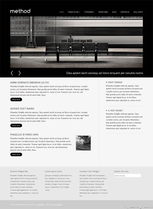 Method Business Portfolio WordPress Theme